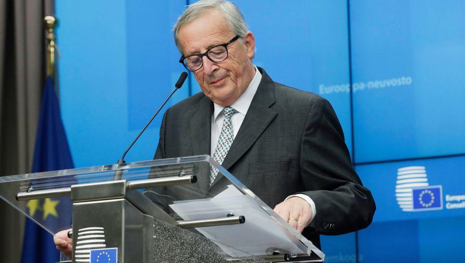 Scheidender Kommissionschef Juncker: Keine Einigung zu Beitrittsgesprächen