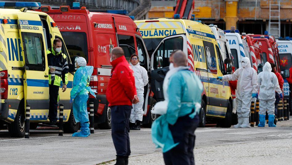 Medizin am Limit: Rettungskräfte in Portugal