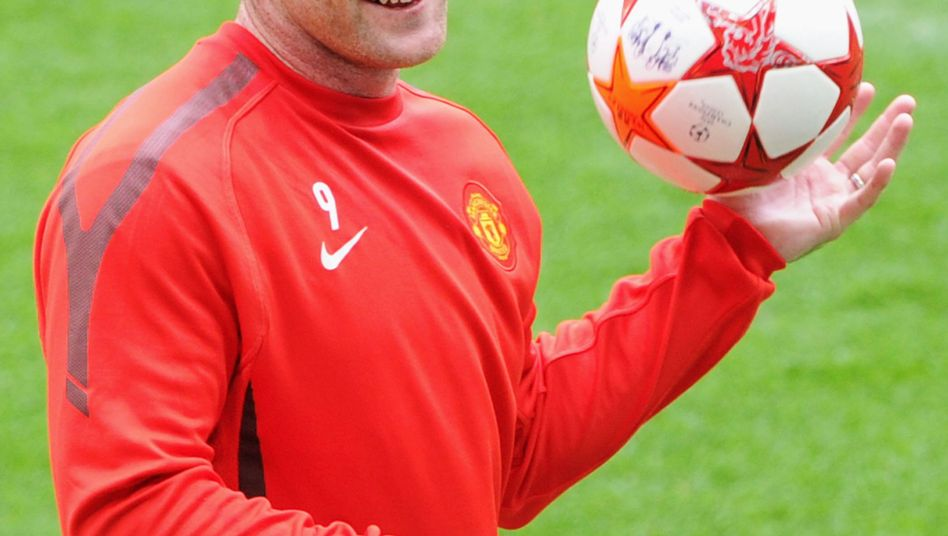 Manchester-United-Star Rooney vor der Operation: Schon mit 25 Jahren fast kahl