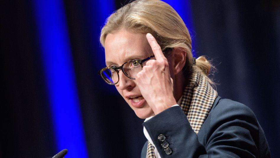 AfD-Spitzenpolitikerin Weidel