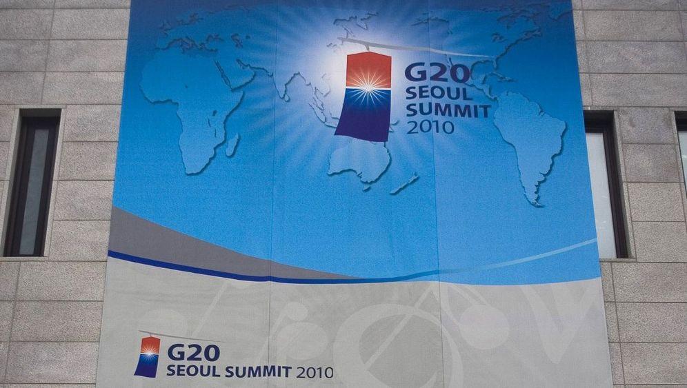 G-20-Gipfel in Seoul: Lächeln für den Gipfelerfolg