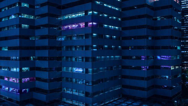 Nachtansichten Tokios: Wie aus einem Science-Fiction-Film