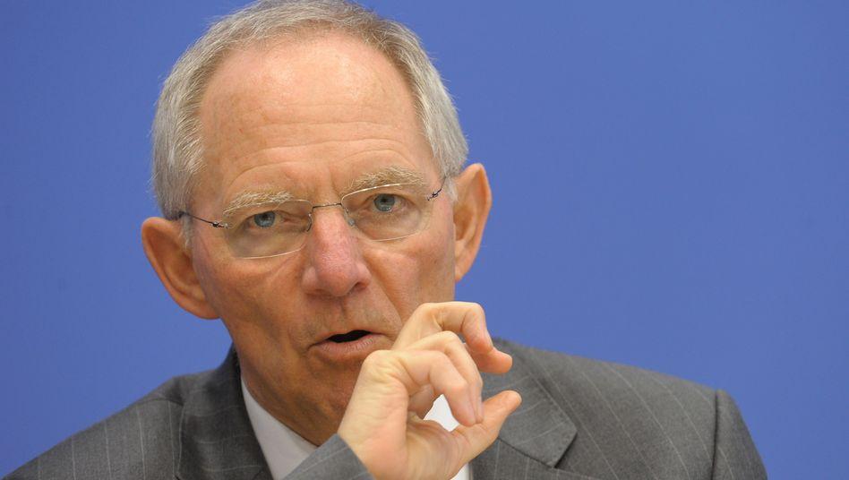 Bundesfinanzminister Wolfgang Schäuble: Mehr Macht für Brüssel