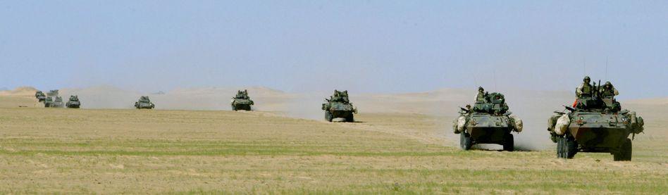 US-Militärfahrzeuge im Irak (Archivbild)