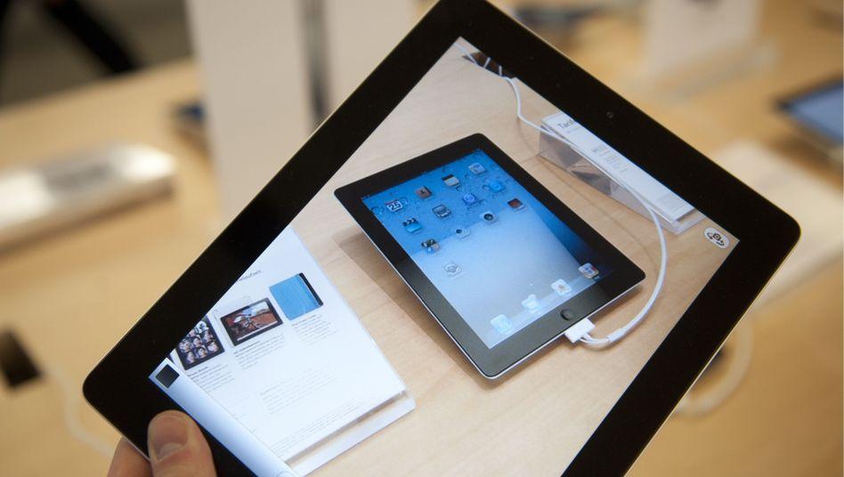 Apples iPad2: Das Samsung-Tablet ist einen Hauch dünner