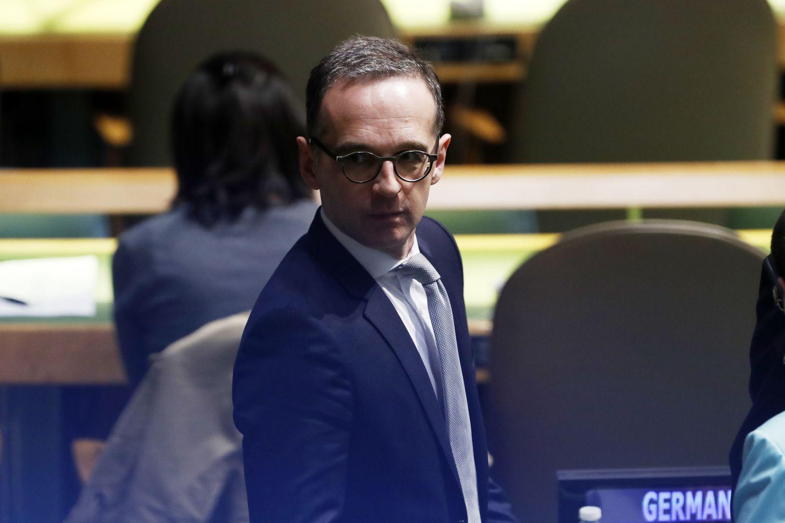 UN-Vollversammlung - Heiko Maas