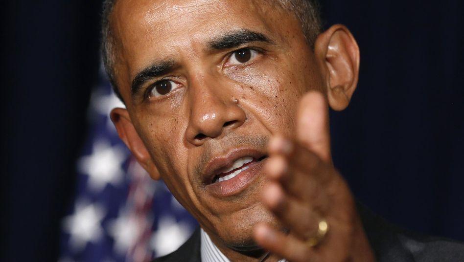 US-Präsident Obama zur Spionageaffäre: Lasst die Kirche bitte im Dorf