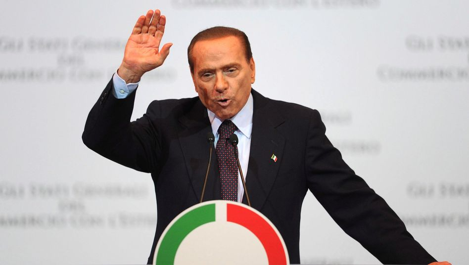 "Italiens Ministerpräsident Berlusconi: ""Euro überzeugt niemanden"""
