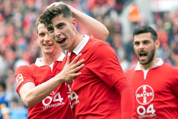Kai Havertz von Bayer Leverkusen galt bisher als ein Spieler, der für mehr als 100 Millionen Euro wechseln würde. Das könnte sich jetzt ändern.