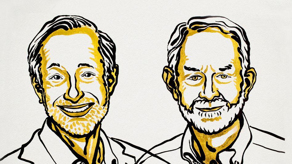 US-Ökonomen Paul R. Milgrom und Robert B. Wilson