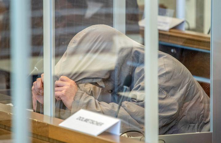 Eyad Alghareib im Koblenzer Gerichtssaal