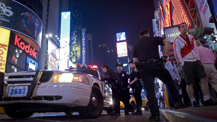 Vereitelter Bombenanschlag: Der Trubel hat den Times Square wieder