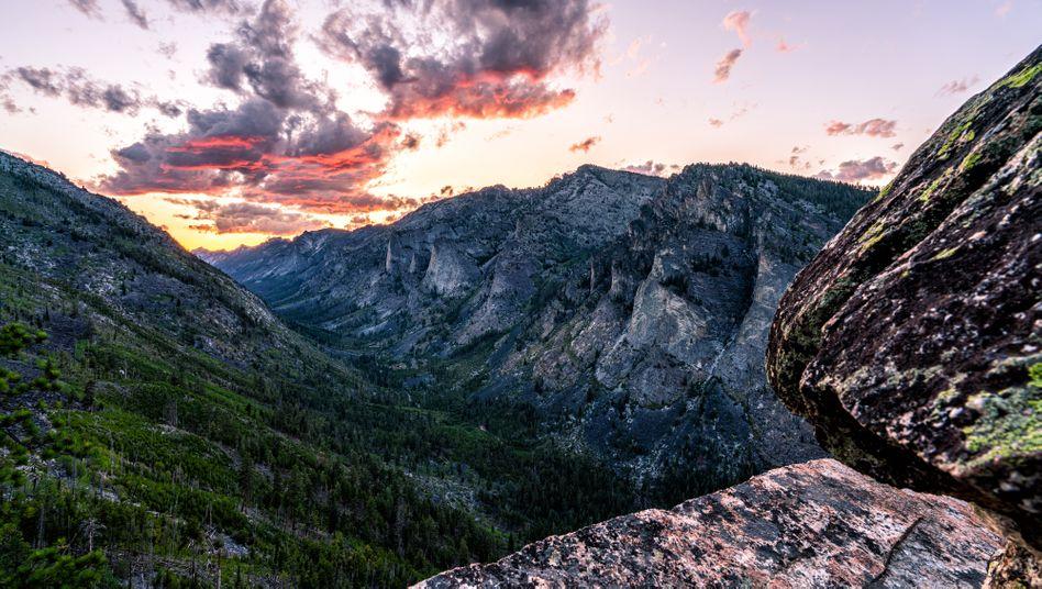 Rocky Mountains in den USA: Der Wunsch, in der Natur zu verschwinden