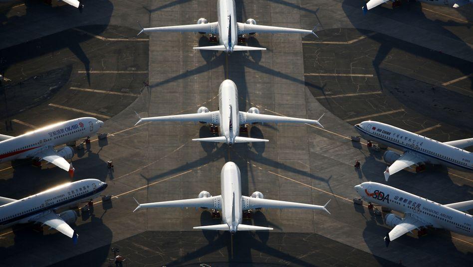 Boeing rechnet mit 737 Max Flugverbot bis Sommer