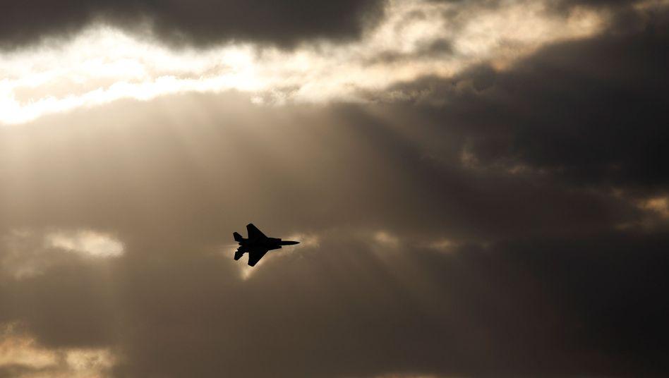 Israelischer F-15-Kampfjet (Archivbild)