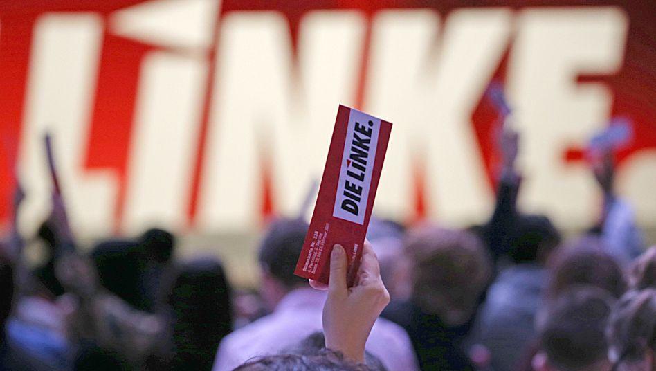 """Linken-Parteitag in Bonn im Februar 2019: """"Politik für 15 Prozent"""""""
