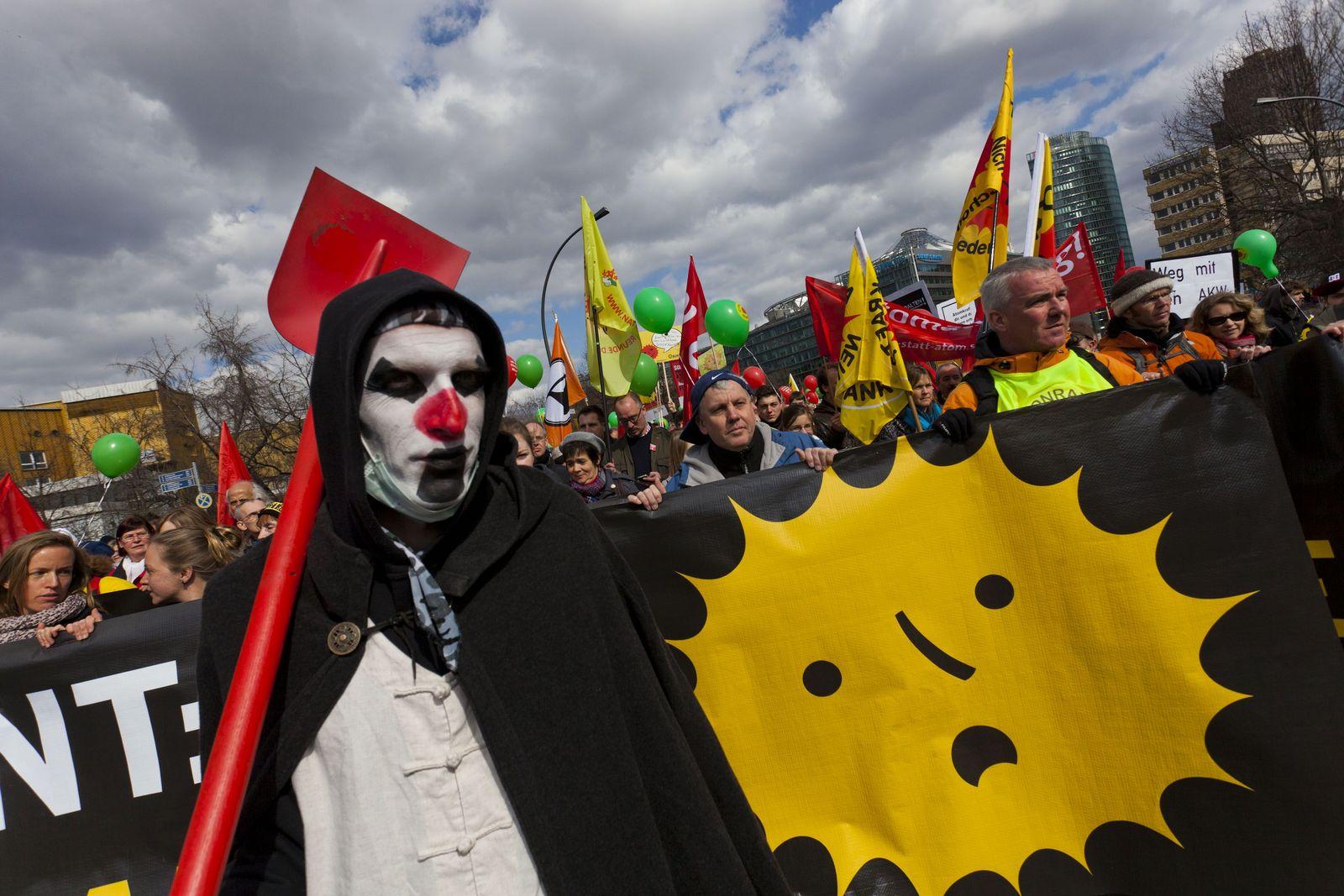 Demo / Anti Atomkraft / Berlin