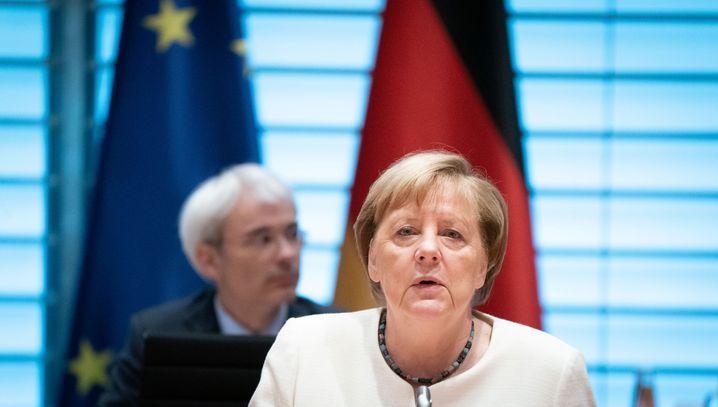 "Kanzlerin Angela Merkel: ""Es muss in Berlin was passieren"""