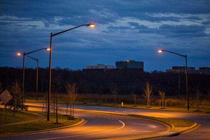 NSA-Zentrale in Maryland, fotografiert von Trevor Paglen: Der Künstler spürt Geheimdiensten nach
