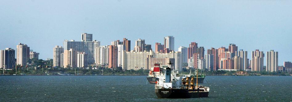 Öltanker vor der venezolanischen Küste