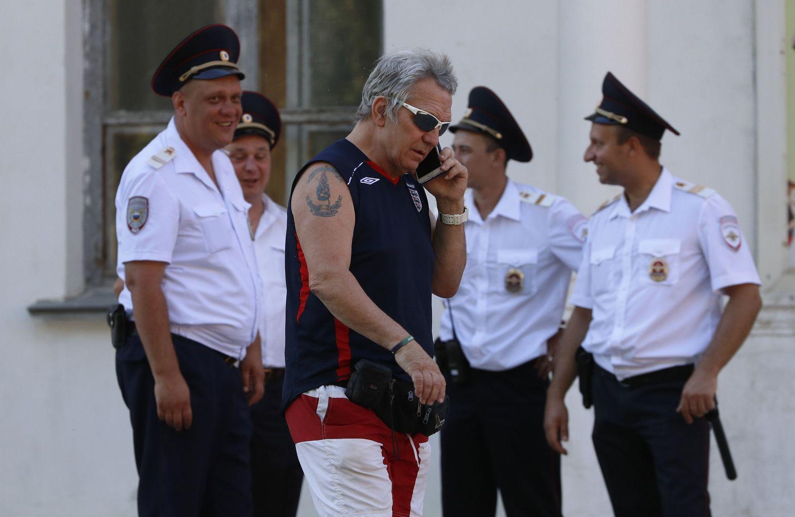 Russland Polizisten