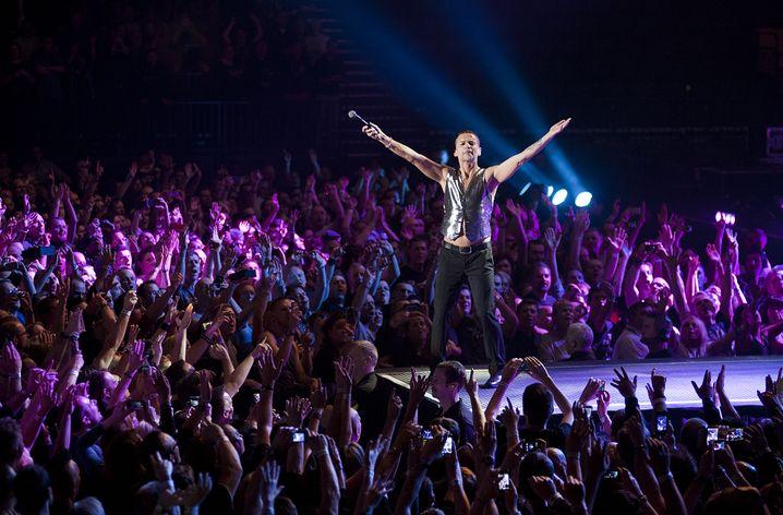 Depeche Mode-Konzert in Birmingham