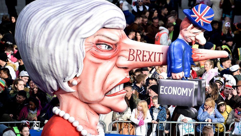Brexit im Düsseldorfer Karneval