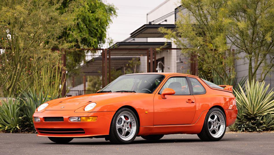 Ein Hauch von 911: Dank runder Scheinwerfer ist der 968 optisch näher an den Porsche-Baureihen 911 und 928