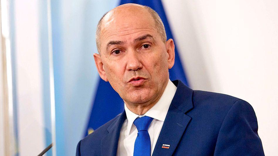 In den sozialen Medien als »Maršal Tweeto« bekannt: Der slowenische Ministerpräsident Janez Janša