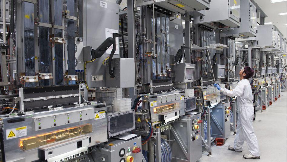 Fabrikanlage von Sovello: Insgesamt hat das Unternehmen rund 1250 Mitarbeiter