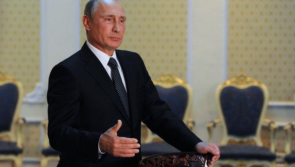 Russlands Präsident Putin: Drohungen im Telefonat mit Poroschenko