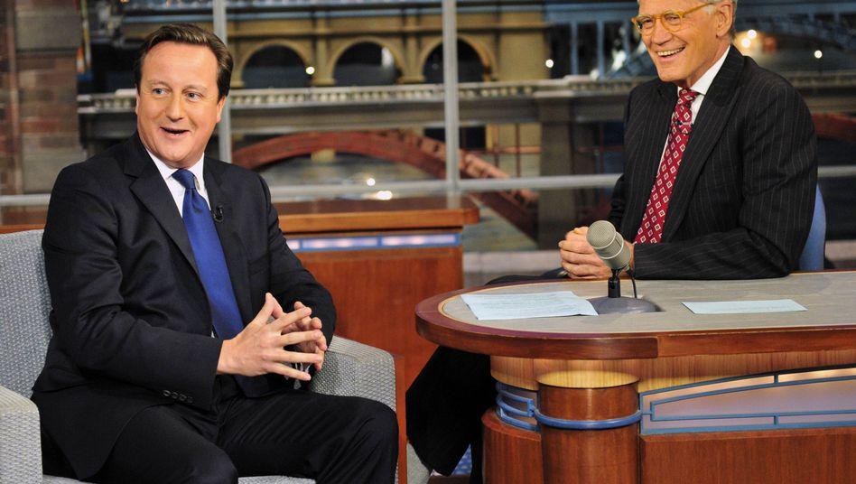 """Cameron zu Gast bei David Letterman: """"Es wäre gut, wenn Sie das wüssten"""""""