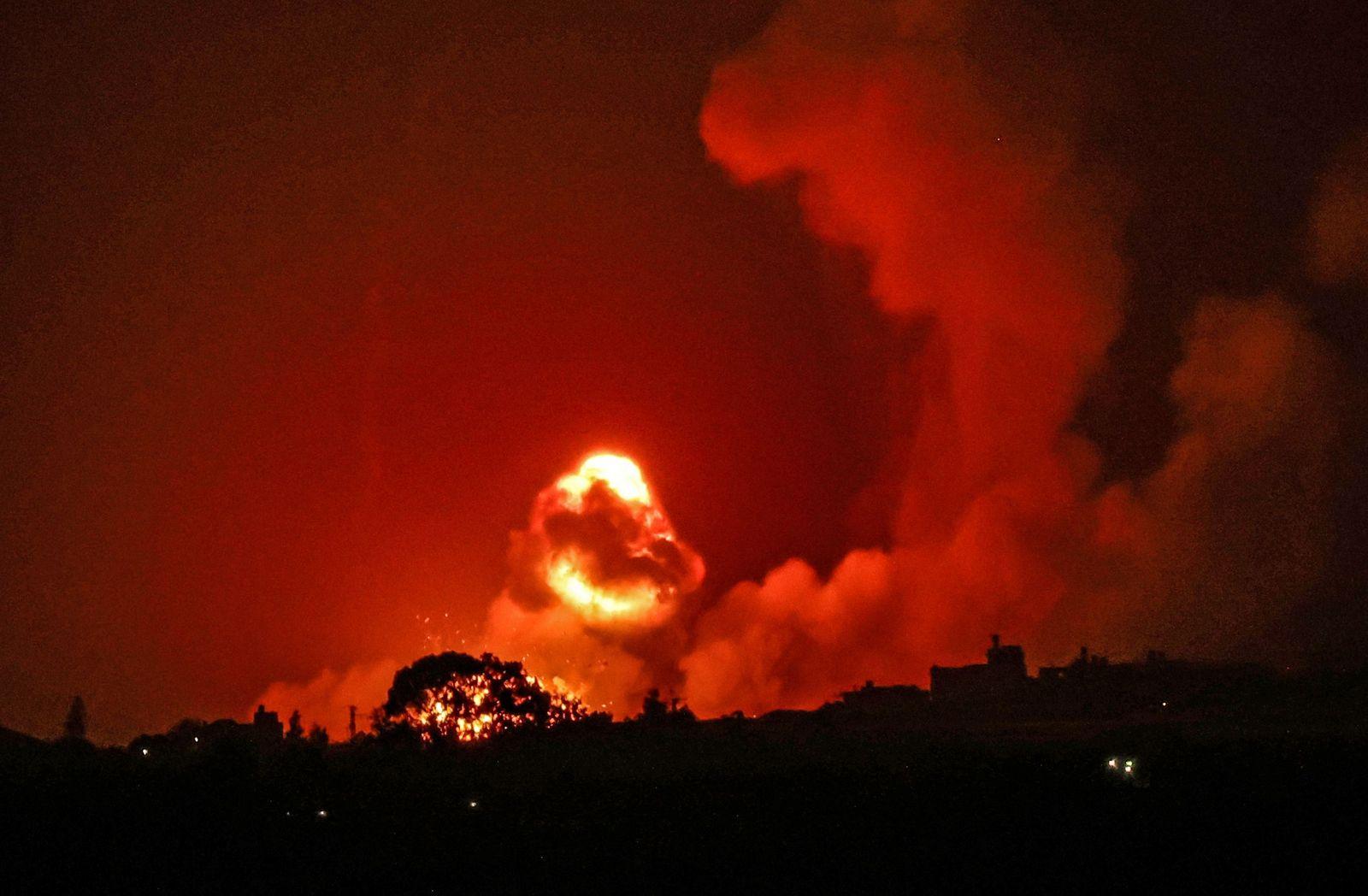 PALESTINIAN-ISRAEL-GAZA-STRIKE