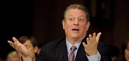 Former Vice President Al Gore urged the Senate to take action on global warming.