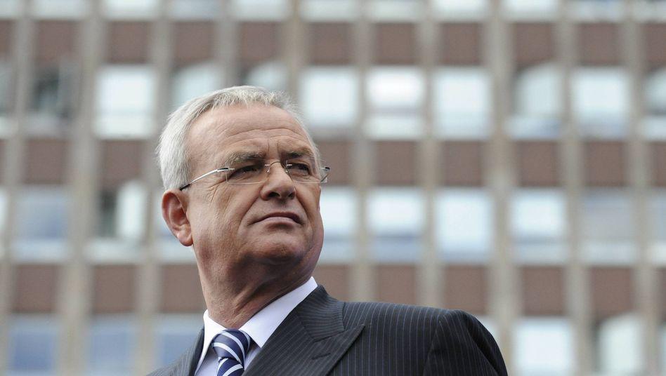 VW-Chef Martin Winterkorn: Gehaltsprimus unter deutschen Top-Managern