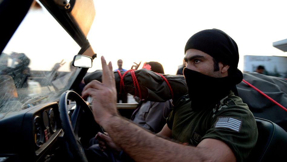Kampf gegen IS: Die Verstärkung fürKobane ist da