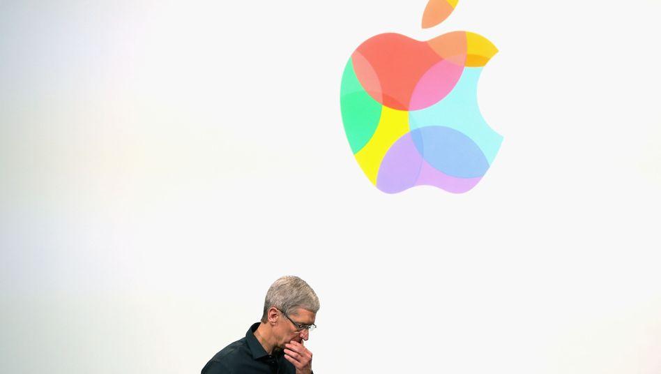 Apple-Logo: Gemeinsam mit Cisco, Microsoft und anderen gegen US-Durchsuchungsbeschlüsse