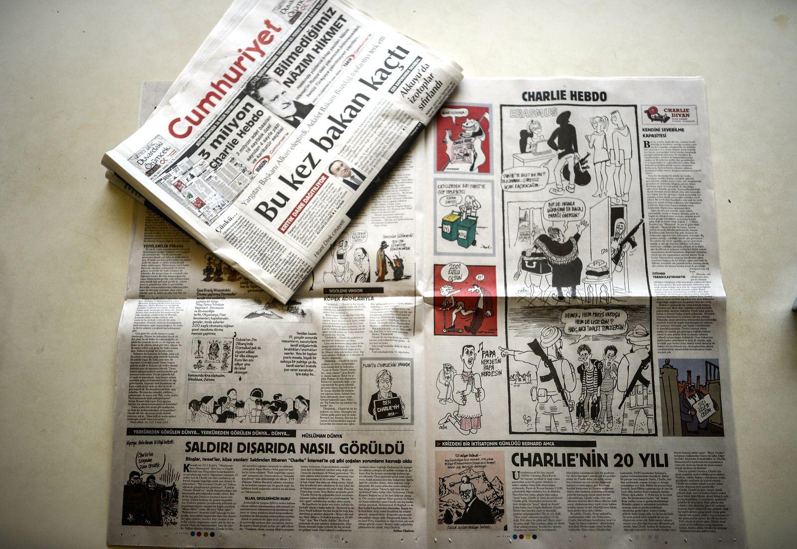 Türkei / Cumhuriyet Daily / Charlie Hebdo
