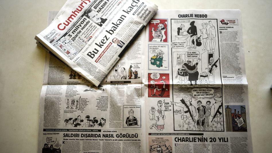 """""""Charlie Hebdo""""-Nachdruck in Cumhuriyet"""