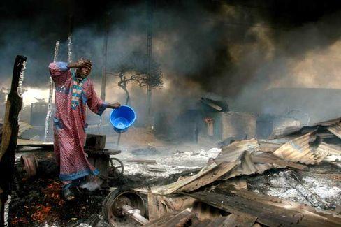 Explosion einer Gaspipeline in Lagos: Die Gewalt nimmt immer weiter zu