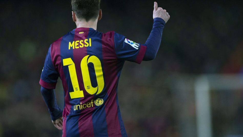 Top-Verdiener Messi: Der Argentinier verdiente im vergangenen Jahr 65 Millionen Euro