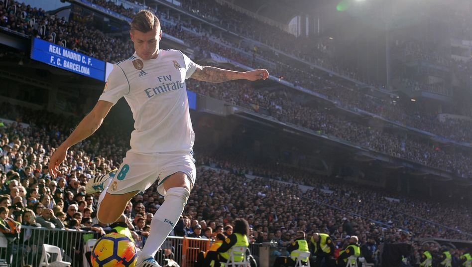 Real Madrids Spielmacher Toni Kroos: Künftig in der Super League?