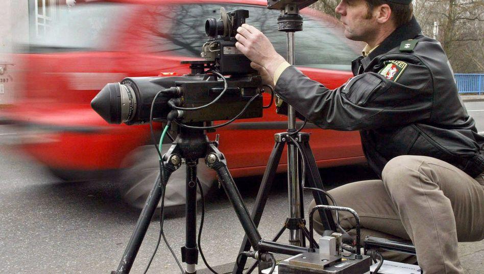 Geschwindigkeitskontrolle: Blitz-Marathon soll Verkehrssicherheit erhöhen