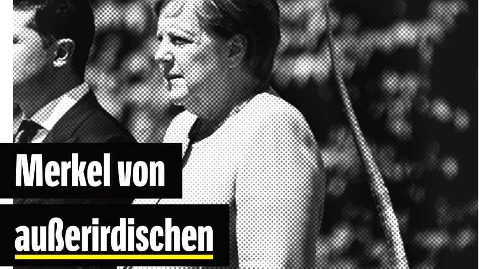 (*) Theorie: Die Bundeskanzlerin zitterte beim Abspielen der Nationalhymne, weil die Echsen Probleme mit der Fernsteuerung bekamen.