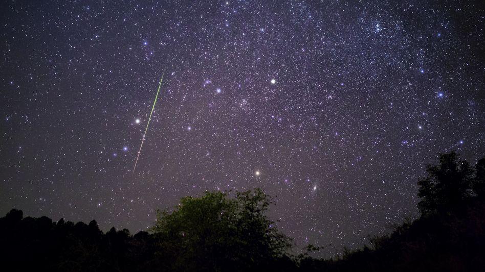 Sternschnuppe über Arizona/USA