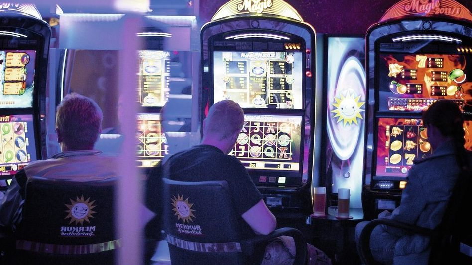 Automaten-Spielhalle