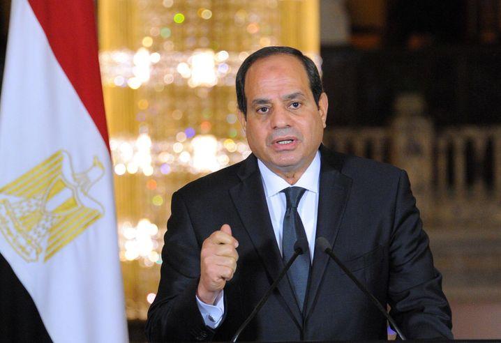 Ägyptens Machthaber Sisi: Das Regime ist abhängig von Finanzhilfen aus dem Ausland