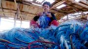 Corona-Schutz aus Fischernetzen