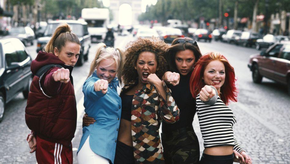 """Popband Spice Girls (1996), Sängerin Melanie C (l.): """"Wir mussten die Welt verändern"""""""
