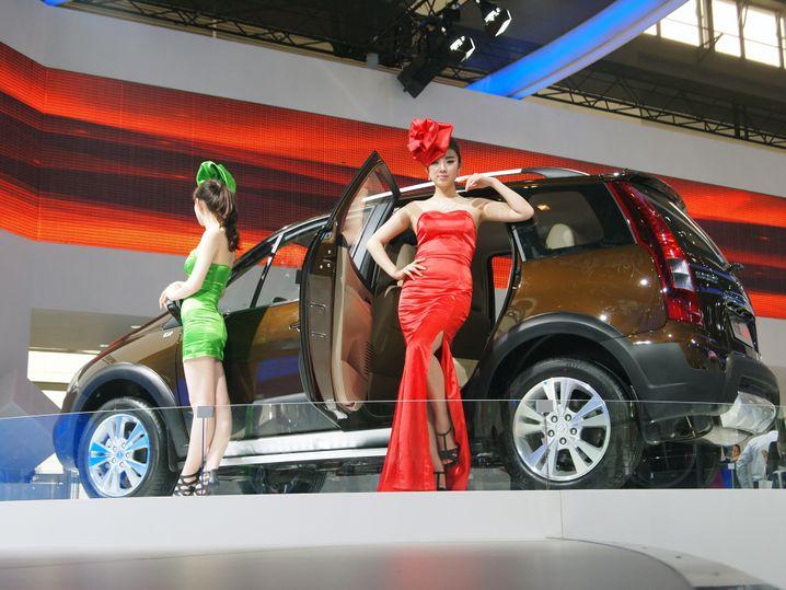 """Autoshow in Peking: """"Es gibt einige sehr problematische Produkte"""""""